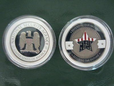 National Security Agency Challenge Coin from NSA HQ