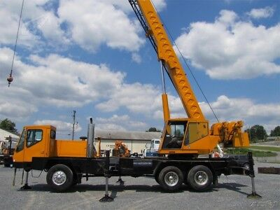 1998 Link-Belt HTC-835 Crane Used, One Owner, Both Cabs Heated, AWD,