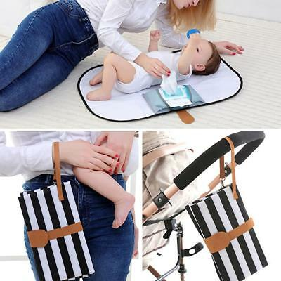 Portable Foldable Baby Diaper Changing Mat Waterproof Travel Floor Play Pad Care