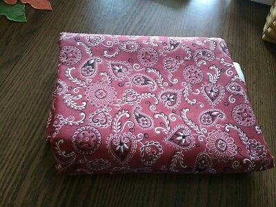 longaberger fabric 5 yards of Red Bandana Fabric New.