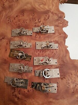 Clock Makers Vintage Collection Of 10 Platform Escapement For Spares Repairs