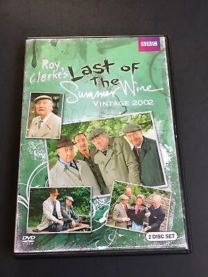 as is Last of the Summer Wine: Vintage 2002 ~DVD ~2-Disc Set BBC
