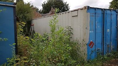 Large 40ft Shipping Container.