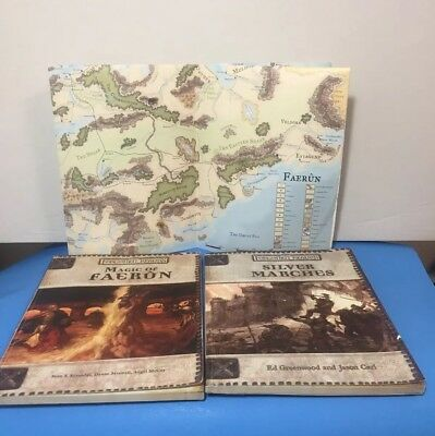 SILVER MARCHES FORGOTTEN Realms D&D 3rd Ed D20 Dungeons