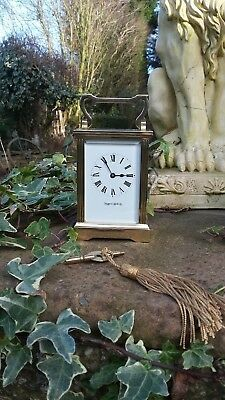 Impressive****Vintage Mappin & Webb Carriage Clock *****