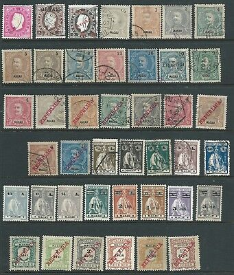 Portugal Macao Nice Lot Mint Hinged Used Few Mixed Condition