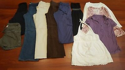 Large Lot of Size Small Maternity Clothes-GAP and other brands