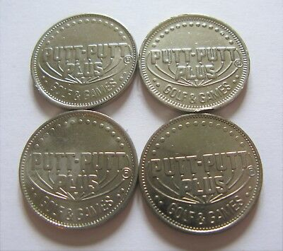 Putt-Putt Plus Golf & Games Gaming Tokens