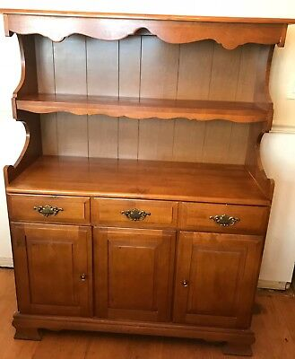 Early American Maple Hutch