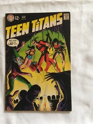 Teen Titans #19 DC Comics 1969