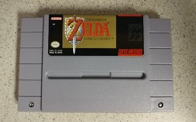 Super Nintendo SNES Legend of Zelda: A Link to the Past Authentic Game Cartridge