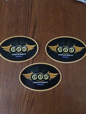 Metzeler Motorcycle Tire Promo Sticker Product Decal Lot Of 3