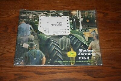 1964 John Deere Buyers Guide Full Line of Tractors and Equipment and L&G