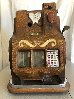 Vintage Mills 5 cent slot machine