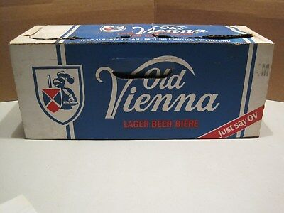 Old Vienna Beer Box & Bottles       clarling okeefe  #21