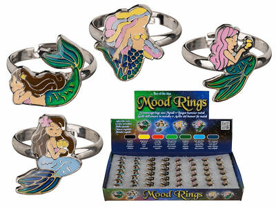 New Children's mermaid Mood fancy dress ring Mythical Creature