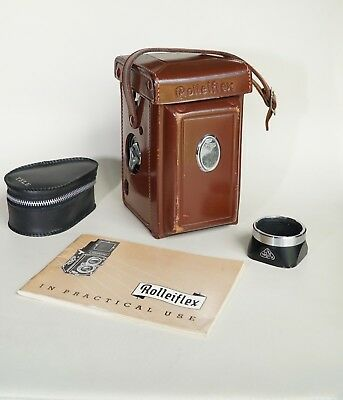 Near Mint! Rolleiflex Automat K4A TLR Camera