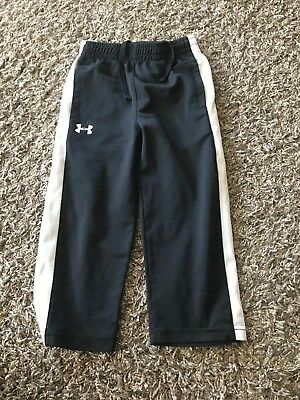 Boys Size 2t Under Armour Black And White Pants