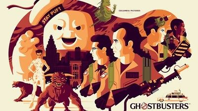 MONDO Poster Ghostbusters Tom Whalen Comic-con SOLD OUT