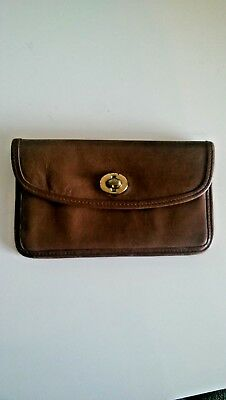 Vintage Coach Wallet brown leather