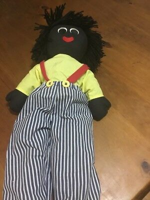 Hand Made Black Rag Doll
