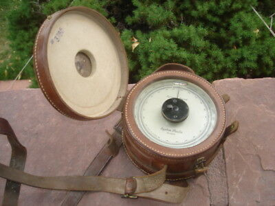 Large Antique System Paulin Aneroid Surveying Altimeter Barometer