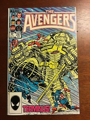 The Avengers #257 Jul 1985, Marvel 1st Nebula VF+ Pivotal Character In The MCU