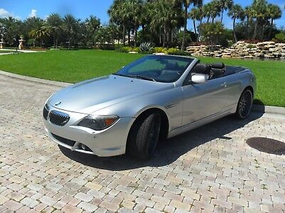 2006 BMW 6-Series 650i 2dr Convertible BMW 650i 2dr Convertible low mileage beautiful condition accident free history