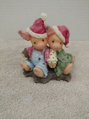 Enesco Tlp This Little Piggy. We Squish You A Merry Christmas