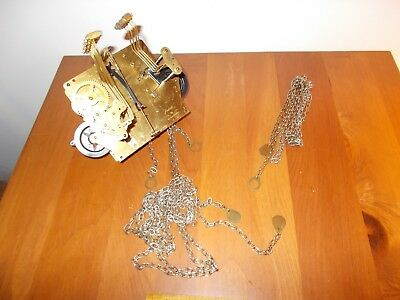 1978 JAUCH  78cm SIDE SHIFT  TRIPLE CHIME CHAIN MOVEMENT, EXCELLENT