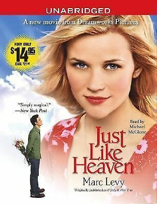 Just Like Heaven by Marc Levy (2005, CD, Movie Tie-In, Unabridged)