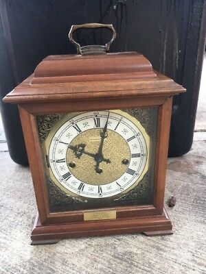 Hamilton Moon Phase Triple Chime Bracket Clock