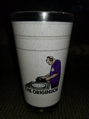 8TH WONDER BREWERY DJ Screw pint Glass limited edition Rare beer Suc htown  tx