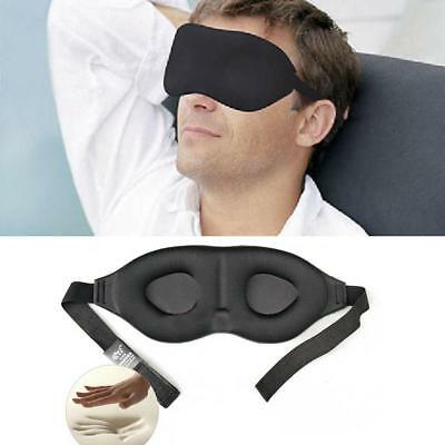 3D Memory Foam Padded Travel Shade Cover Rest Relax Sleeping Blindfold Eye Mask