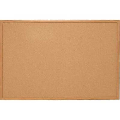Cork Board 400 X 600mm with Pine Trim Vista Visual Branded