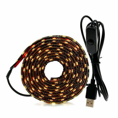 USB 5V LED Strip 5050 TV Background Lighting 60LEDs/m USB Cable+Switch Light