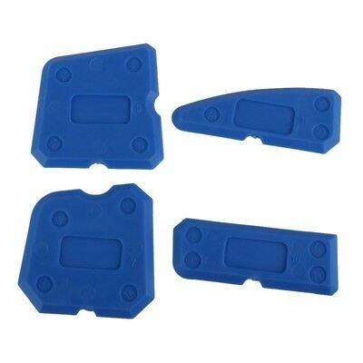 4pcs Silicone Sealant Spreader Profile Applicator Tile Grout Tool Home Help DJ8Z