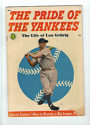 The Pride of the Yankees, Lou Gehrig story