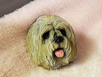 Lhasa Apso ~ Refrigerator Magnet. Hand Crafted. New