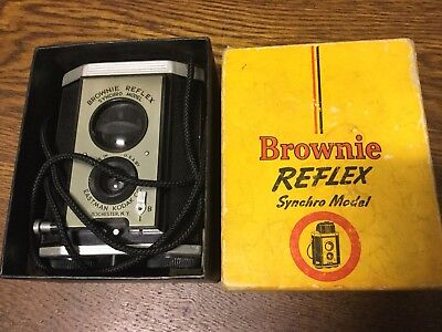 KODAK BROWNIE REFLEX No.173 -Original Old Vintage Box Camera c1940-50's -USA.