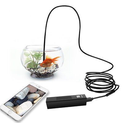 Endoscope Wireless Waterproof Borescope Inspection Camera Kit For iOS Android PC