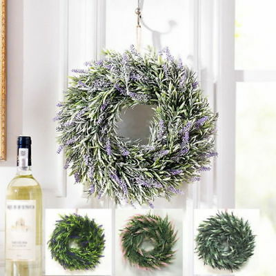 Merry Christmas Wreath Decor Wreath Front Door Wall Wreaths Garland Flower Party