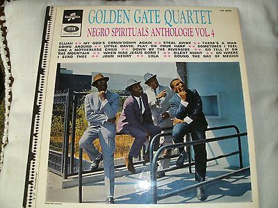 LP: Golden Gate Quartet - Negro Spirituals Anthologie Vol. 4