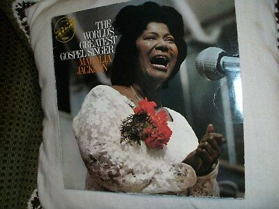 Vinyl-LP: The World's Greatest Gospel Singer - Mahalia Jackson (Embassy 1970)
