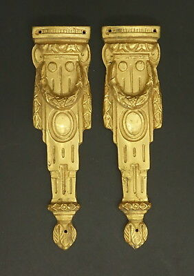 PAIR OF FALLS ORNAMENTS LOUIS XVI STYLE - FRENCH ANTIQUE -  2 pairs available