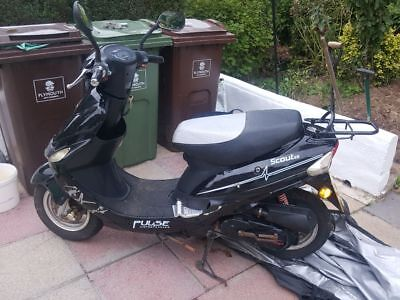 Moped 49cc scout pulse