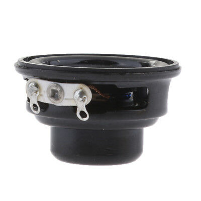 32mm 4ohm 3W Altoparlante sostitutivo Woofer Subwoofer Bass Horn