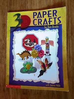 Paper Craft By  Ron Brada. 11 Projects To Make