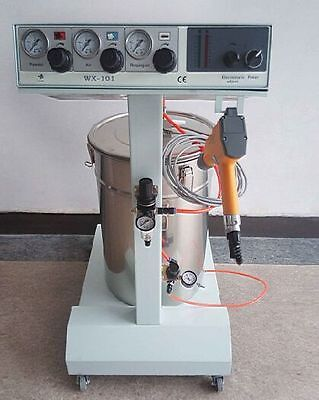 Electrostatic Powder Coating Spray Gun Spray Machine 101 Paint System 110v 220v