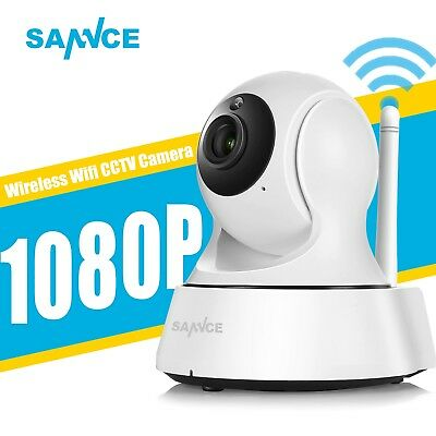 Sannce Wireless Home Security Camera 720p IP CCTV Ir Night Vision 1080p Wi-Fi
